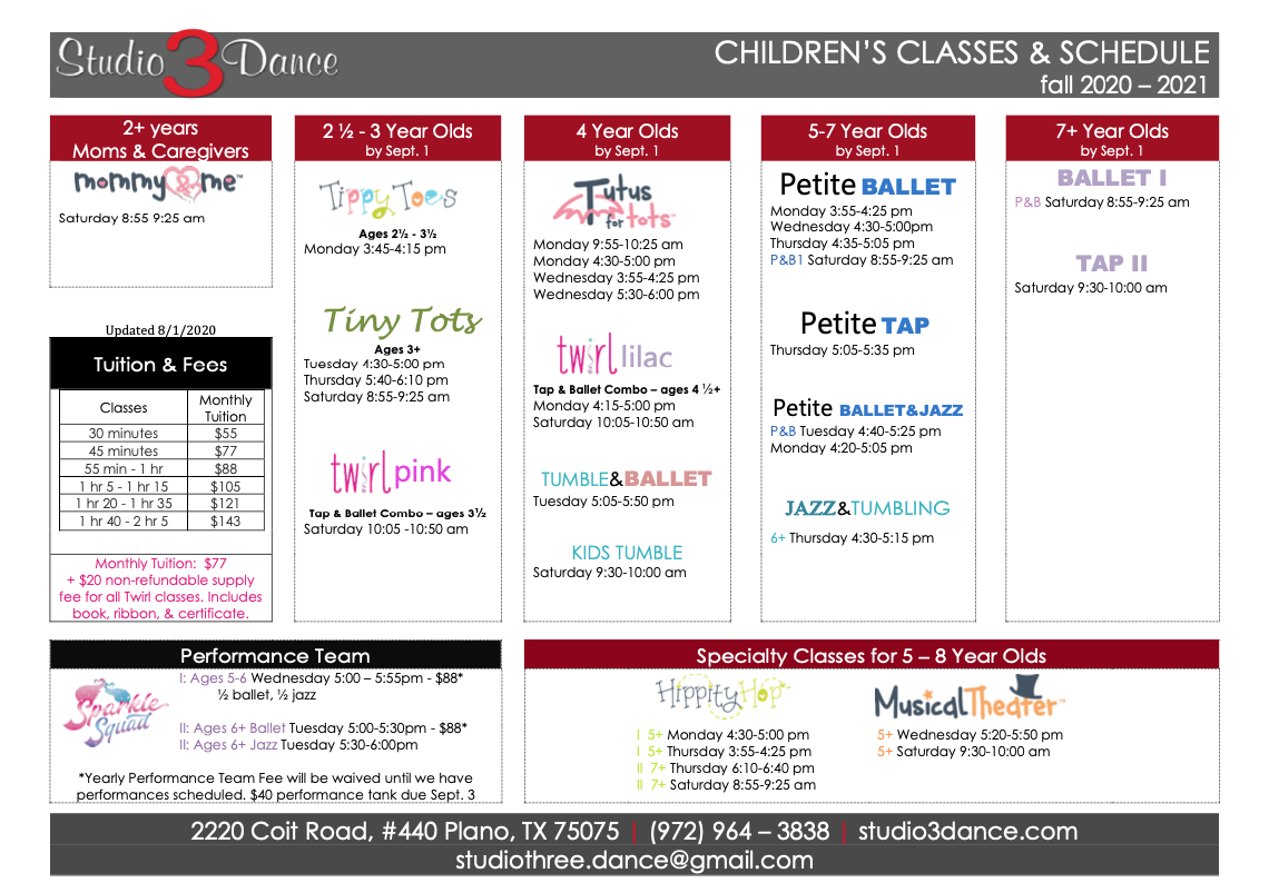 childrens classes